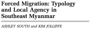 Forced Migration: Typology and Local Agency in Southeast Myanmar